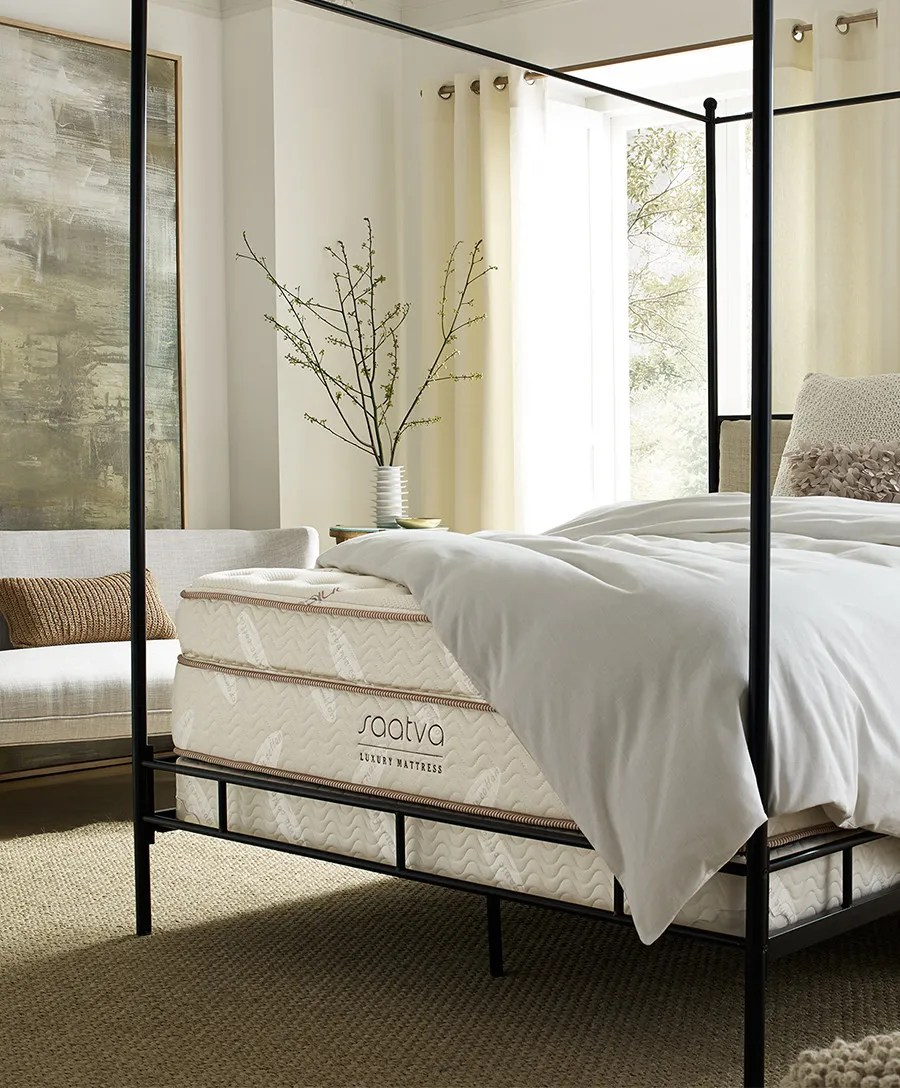 Firmest Mattresses On The Market Saatva Classic