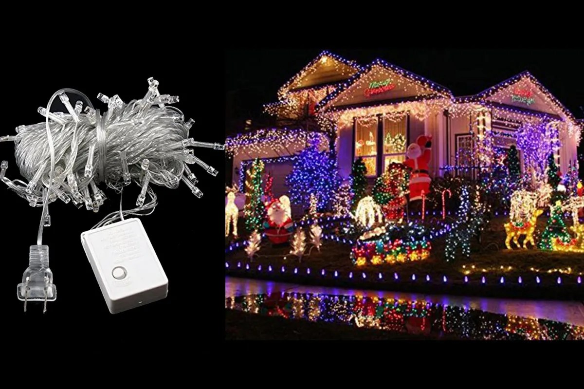 Christmas Led Lights Canada Autolizer 100 Led Purple Fairy String Lights