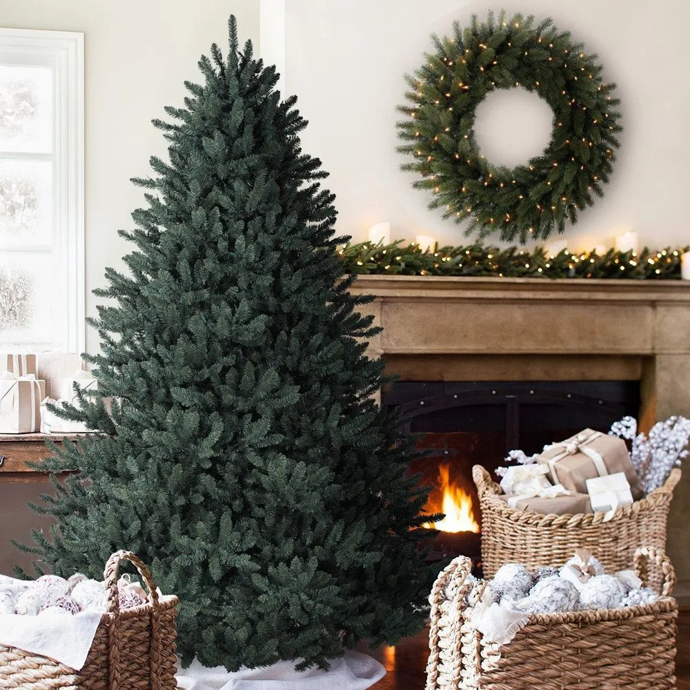 Best Place For Christmas Decorations 6 5 Balsam Hill Blue Spruce Artificial Christmas Tree Unlit