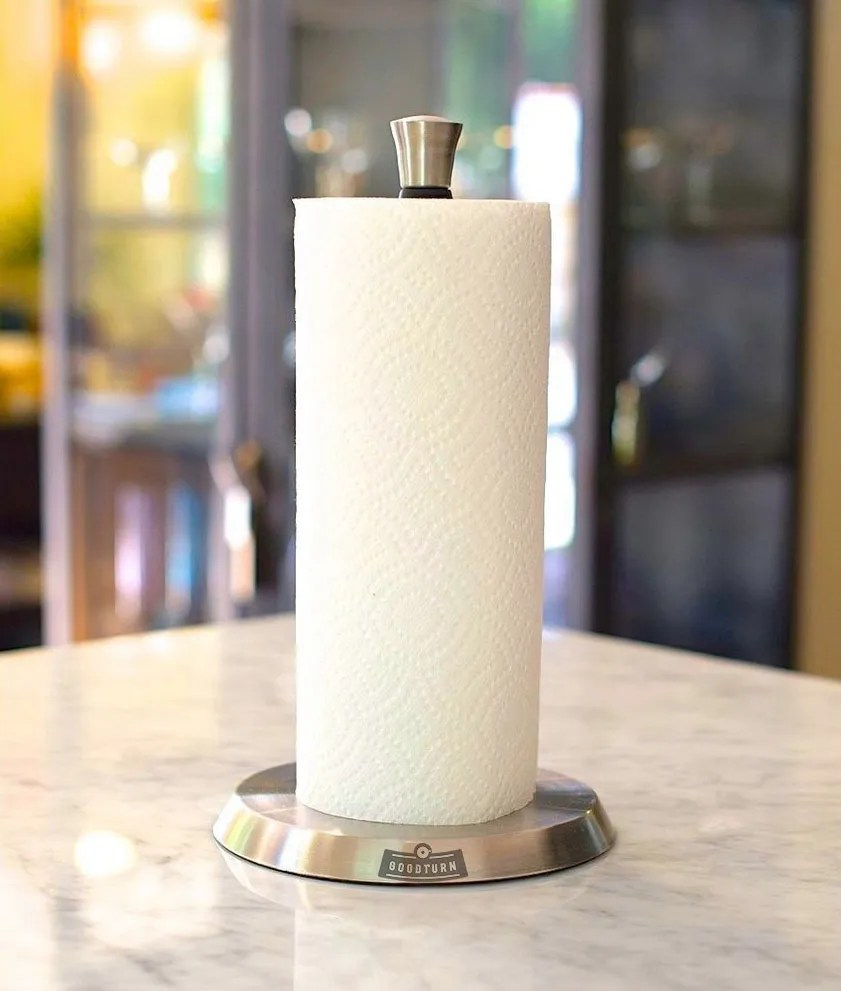 Wall Mount Paper Towel Dispensers Goodturn Vertical One Handed Paper Towel Holder