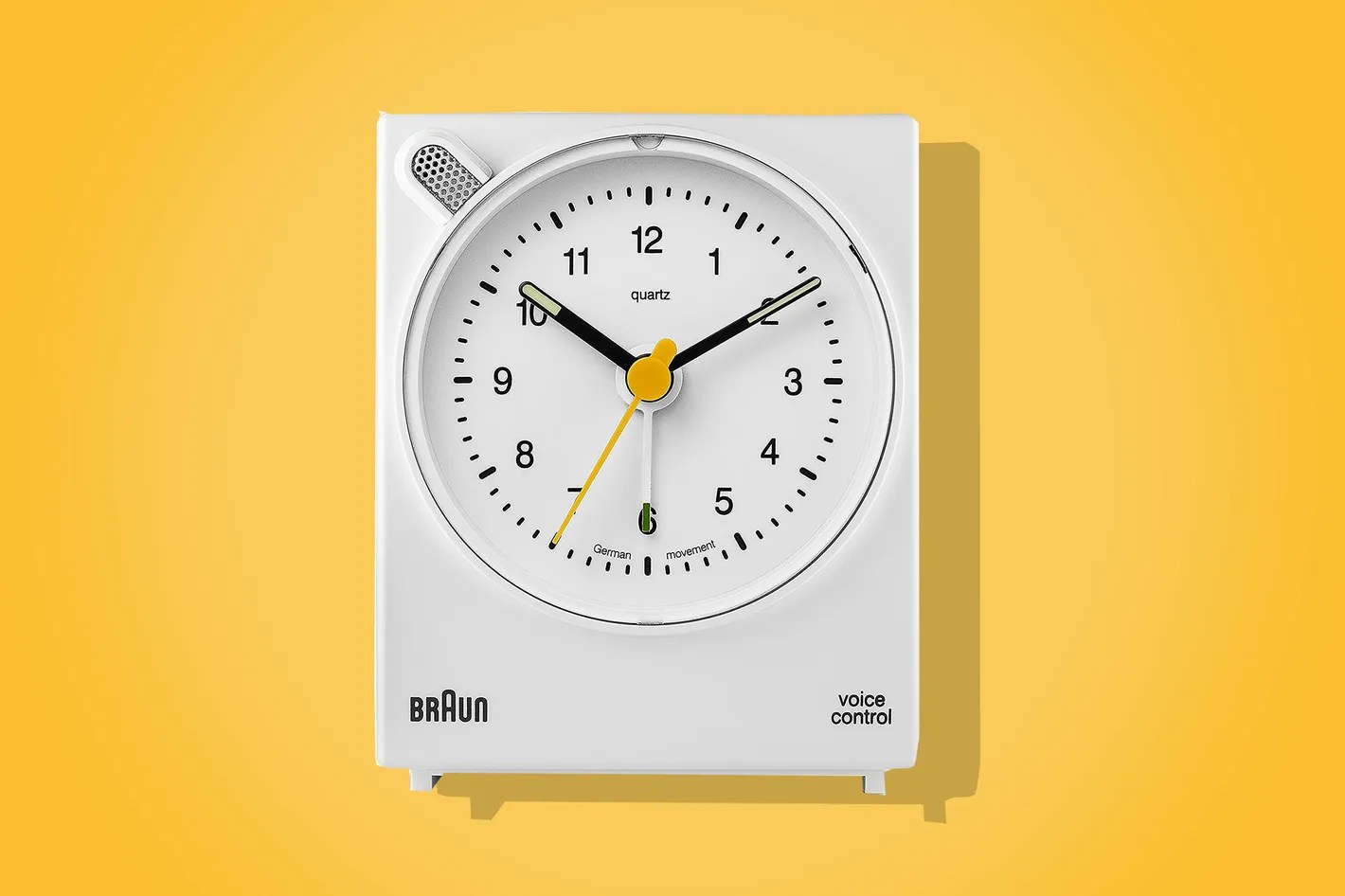 Buy Clock Braun Classic Analog Quartz Alarm Clock