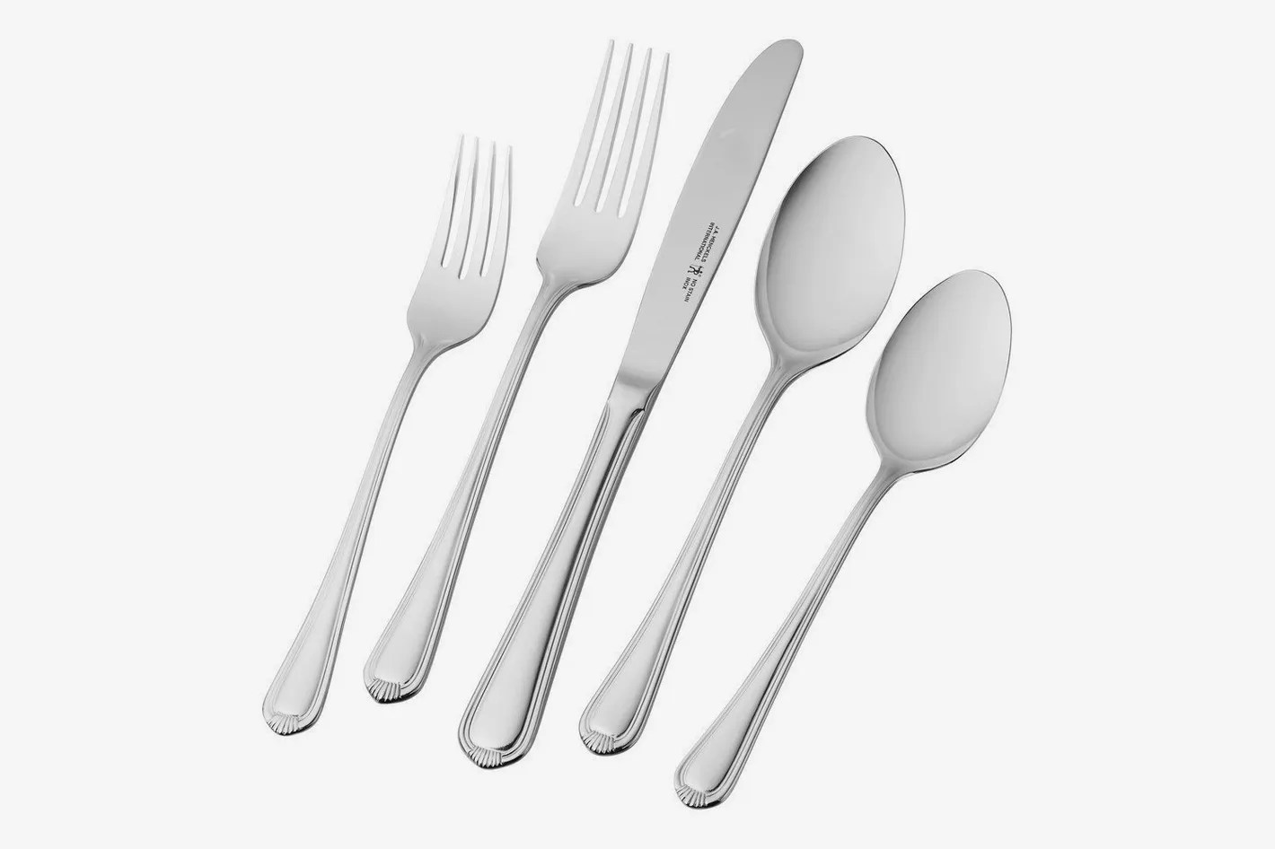 Used Flatware For Sale J A Henckels International 65 Piece Alcea Flatware Set
