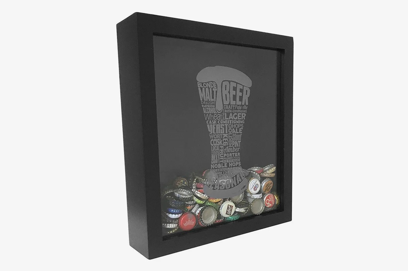 Best Gifts For New Homeowners Proper Pour Beer Bottle Cap Holder Shadow Box