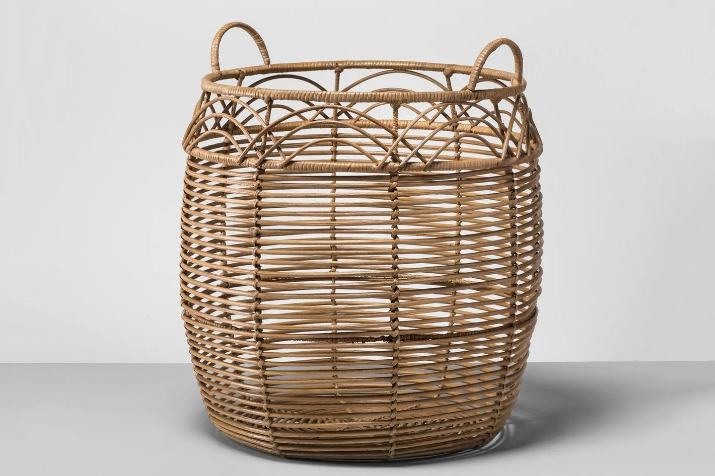 Bike Basket Big W Rattan Basket Large