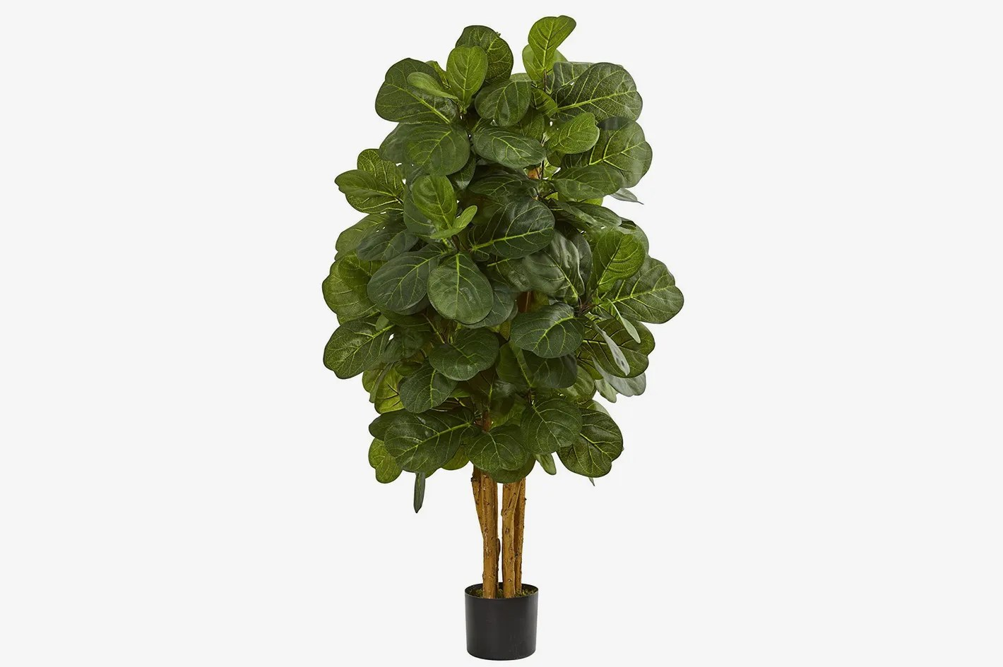 Ikea Palm Tree Nearly Natural 4 Fiddle Leaf Fig Artificial Tree