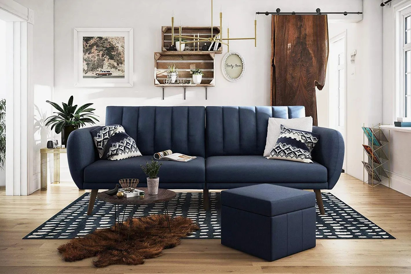 Best Places To Buy A Futon Novogratz Brittany Sofa Futon
