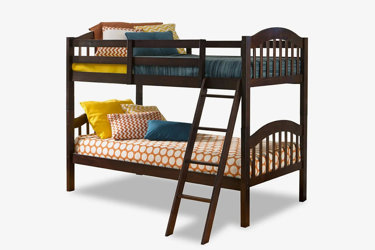 Stackable Twin Beds Storkcraft Long Horn Solid Hardwood Twin Bunk Bed