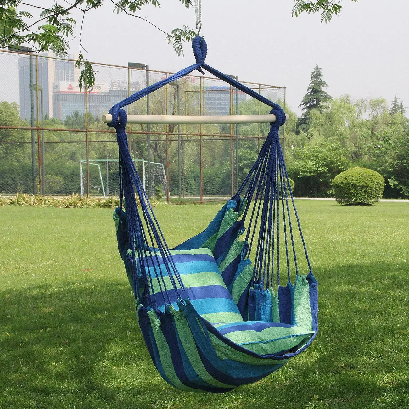 Hanging Outdoor Chairs Sorbus Hanging Rope Hammock Chair Swing Seat