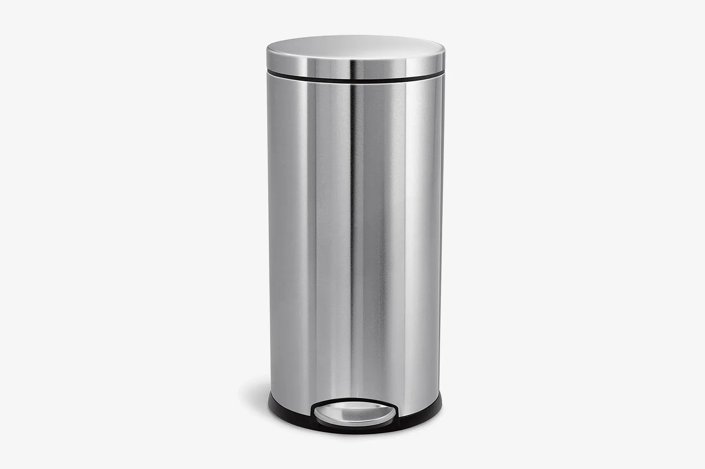 Colorful Garbage Cans Simplehuman 30 Liter 8 Gallon Stainless Steel Round Kitchen Step Trash Can