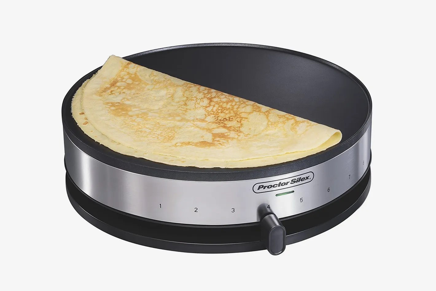 Crepe Party Lagrange Proctor Silex 38400 Electric Crepe Maker 13 Inch Griddle Spatula