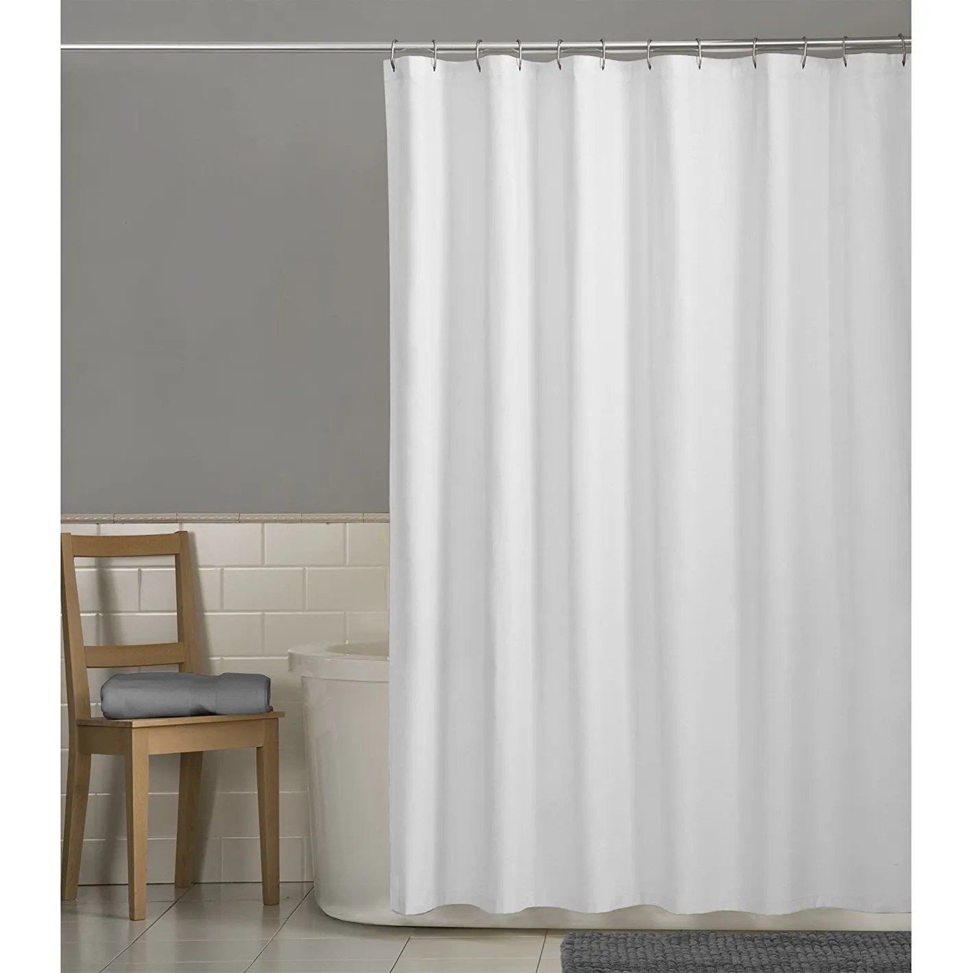 Shower Curtains For Less Maytex Water Repellent Fabric Shower Curtain