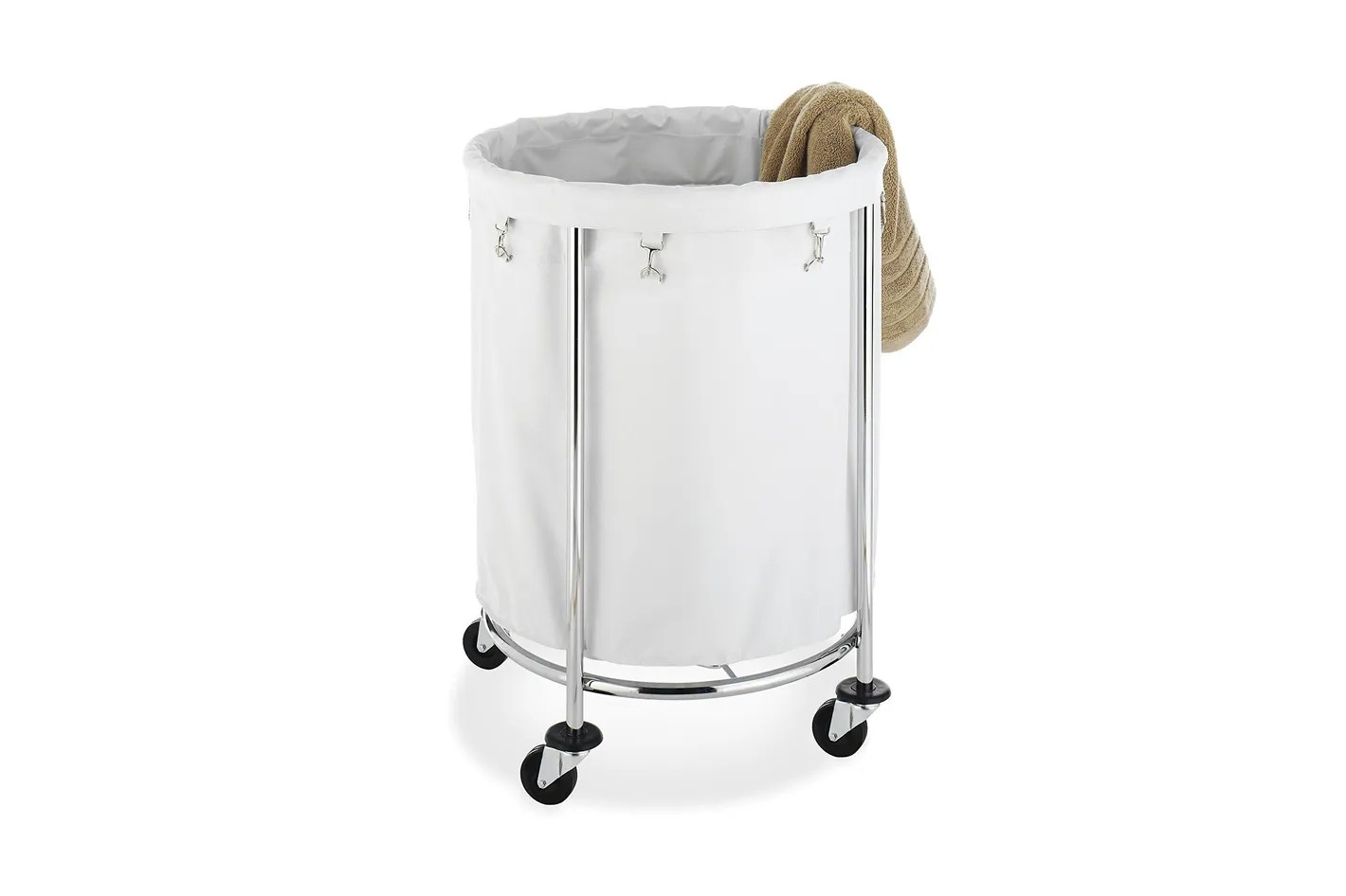 Laundry Bin With Wheels 12 Best Laundry Baskets And Hampers 2018