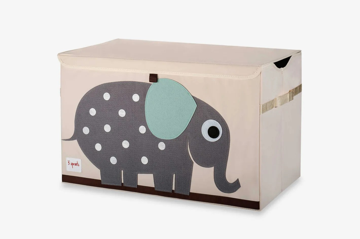 Toy Chests 3 Sprouts Toy Chest In Elephant