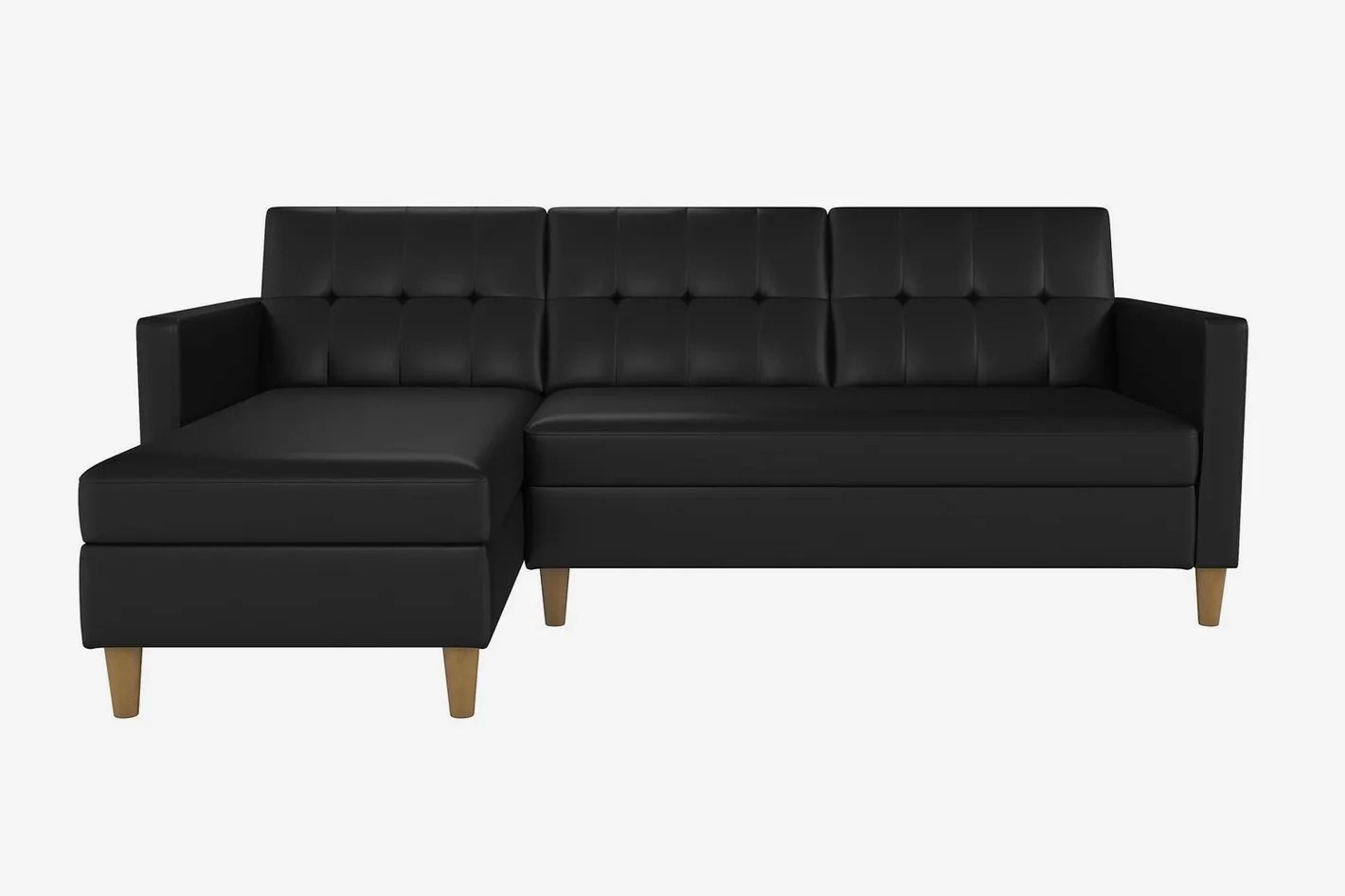 Couch Sofa Stigall Reversible Sleeper Sectional