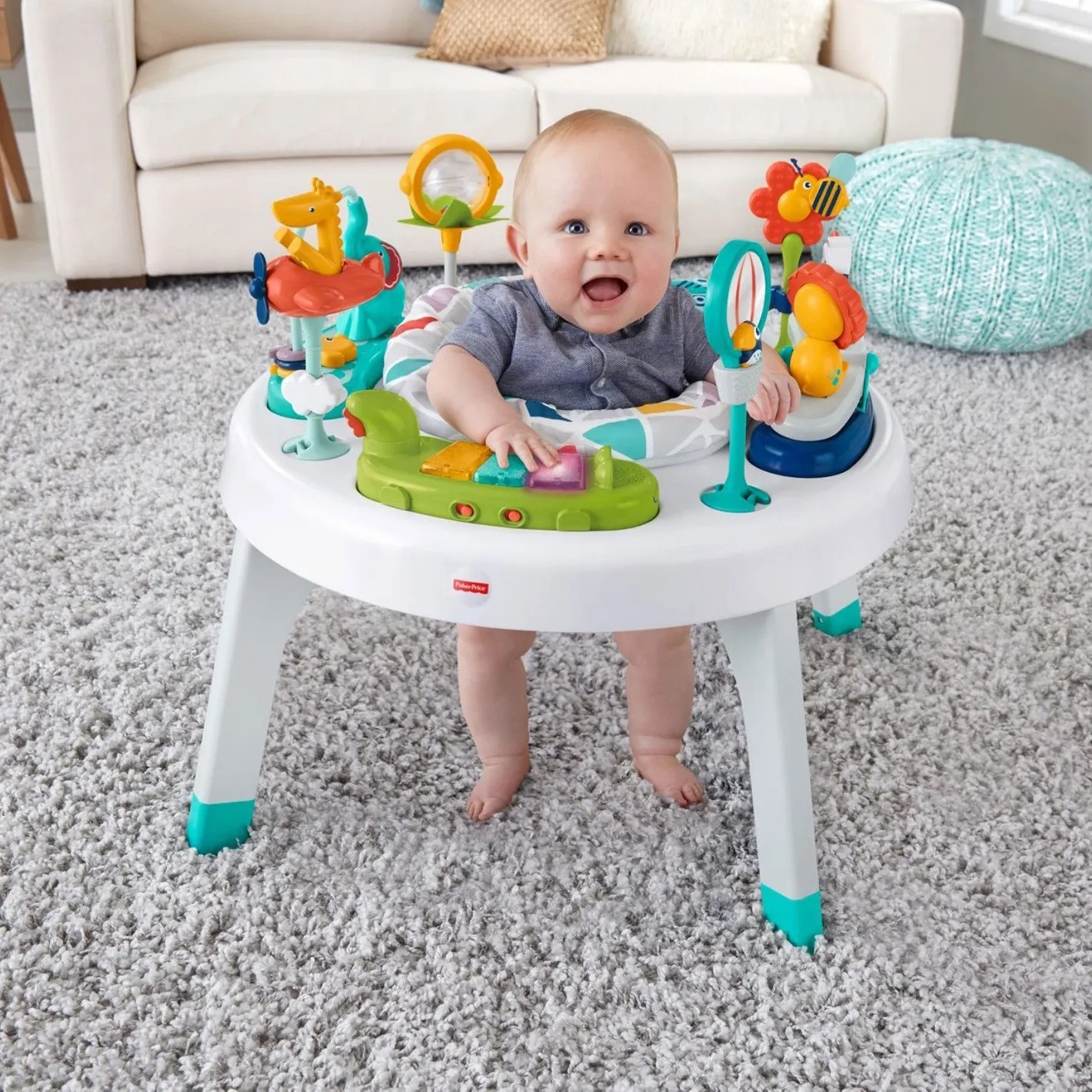 Baby Activity Center Fisher Price 2 In 1 Sit To Stand Activity Center