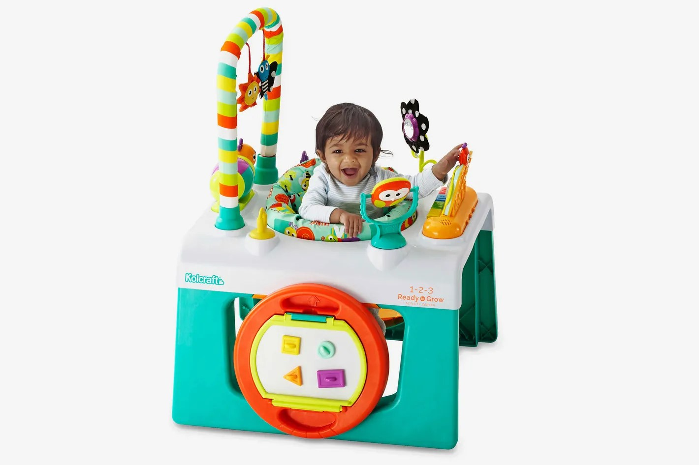 Baby Activity Center Kolcraft 1 2 3 Ready To Grow Activity Center