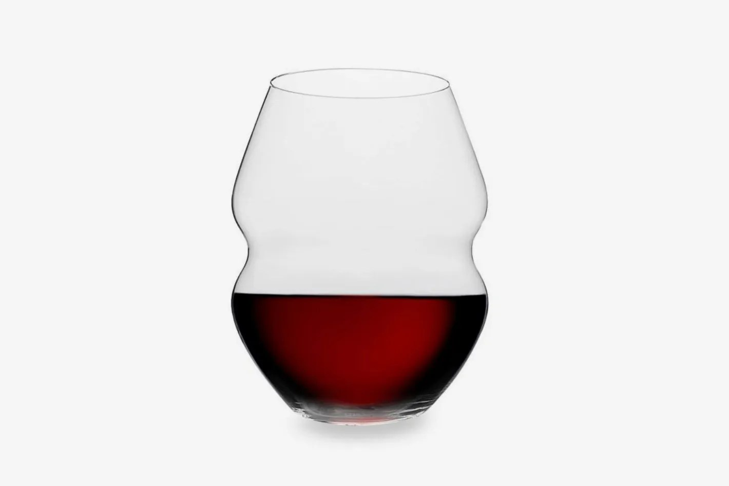 Red Wine Glasses For Sale Riedel Swirl Stemless Red Wine Glasses