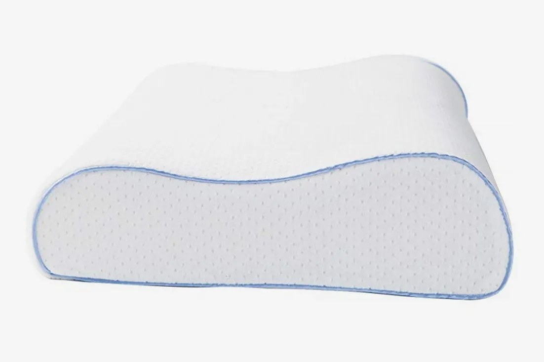 Best Pillow For Sleeping On Your Back Aeris Contour Pillow Premium Side Sleeper
