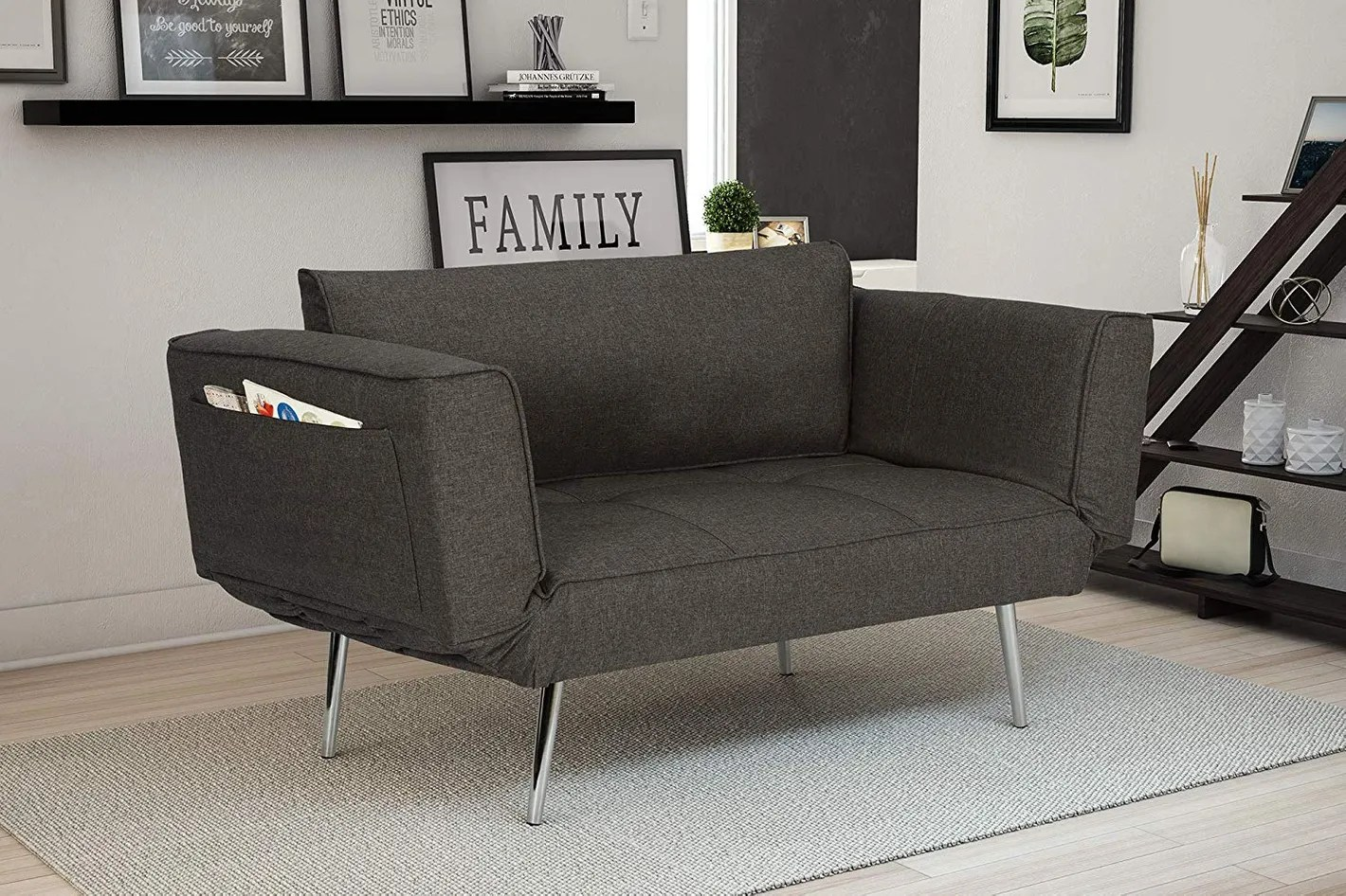 Amazon Sofa Sale Novogratz Leyla Loveseat