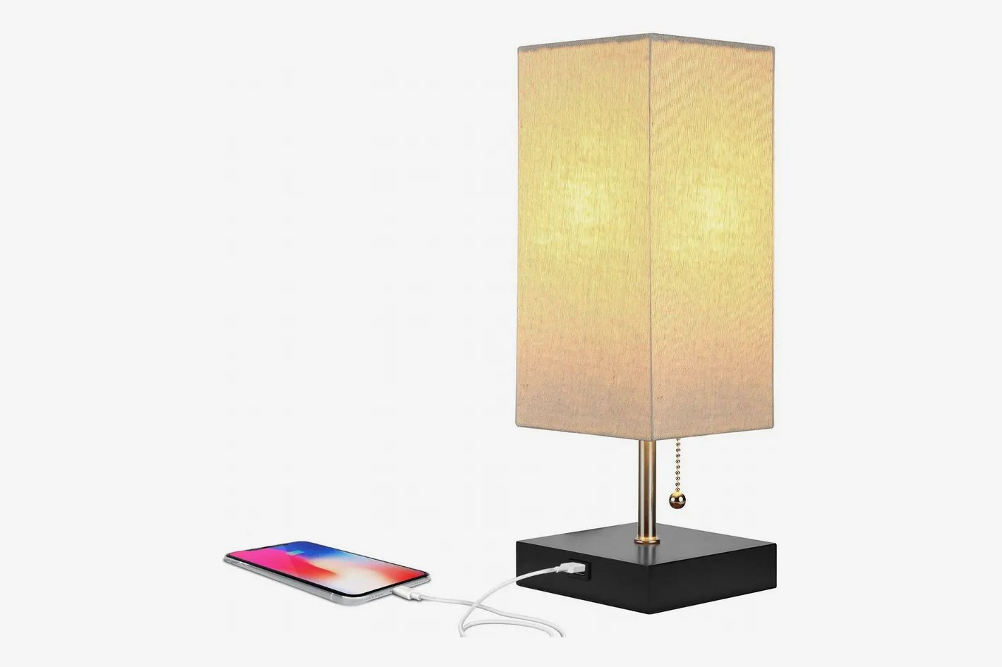 Cool Bedside Lamps Brightech Grace Led Usb Bedside Lamp