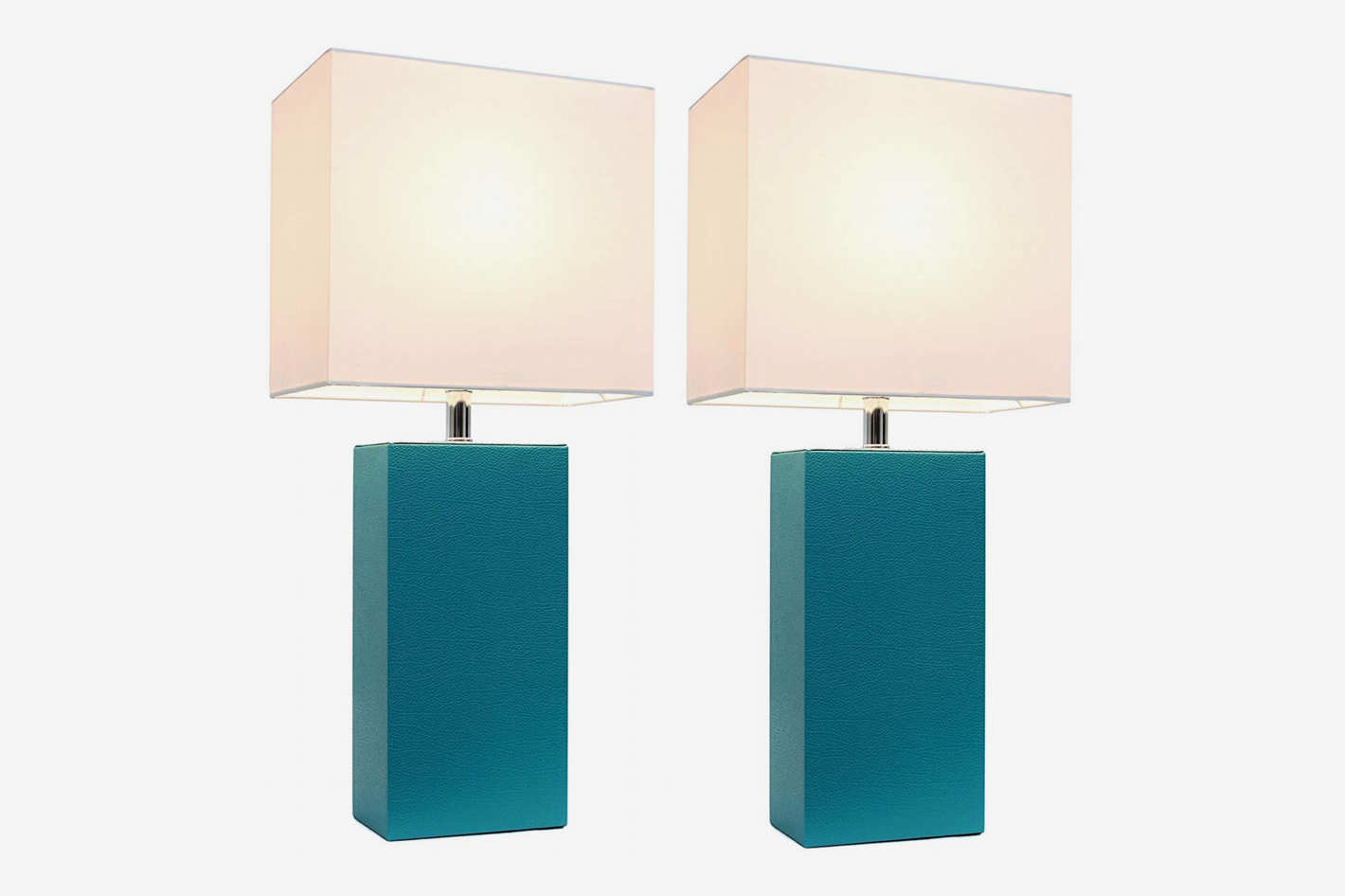 Cool Bedside Lamps Elegant Designs 2 Pack Leather Lamps