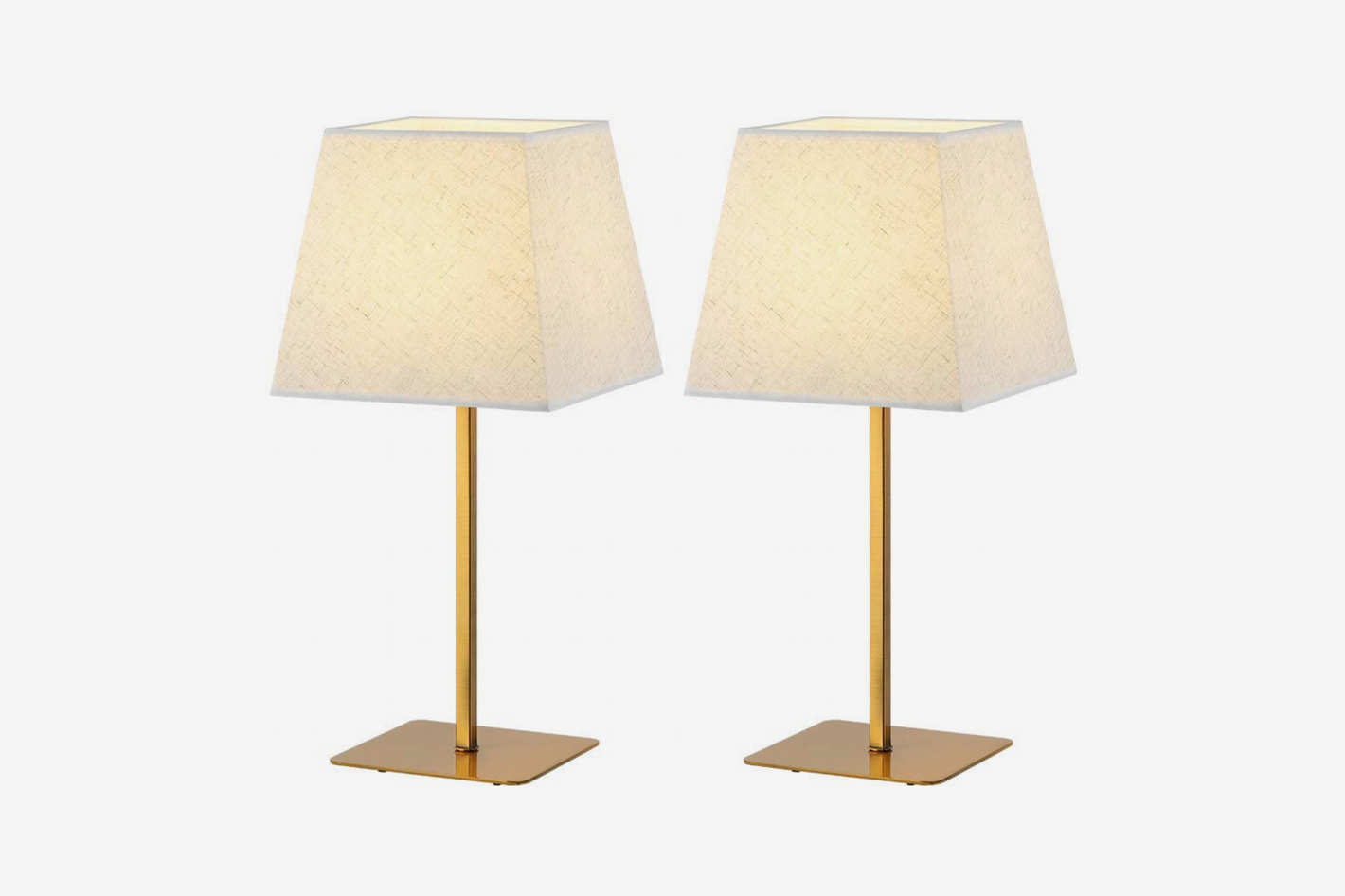 Cool Bedside Lamps Haitral Gold Table Lamps Set Of 2