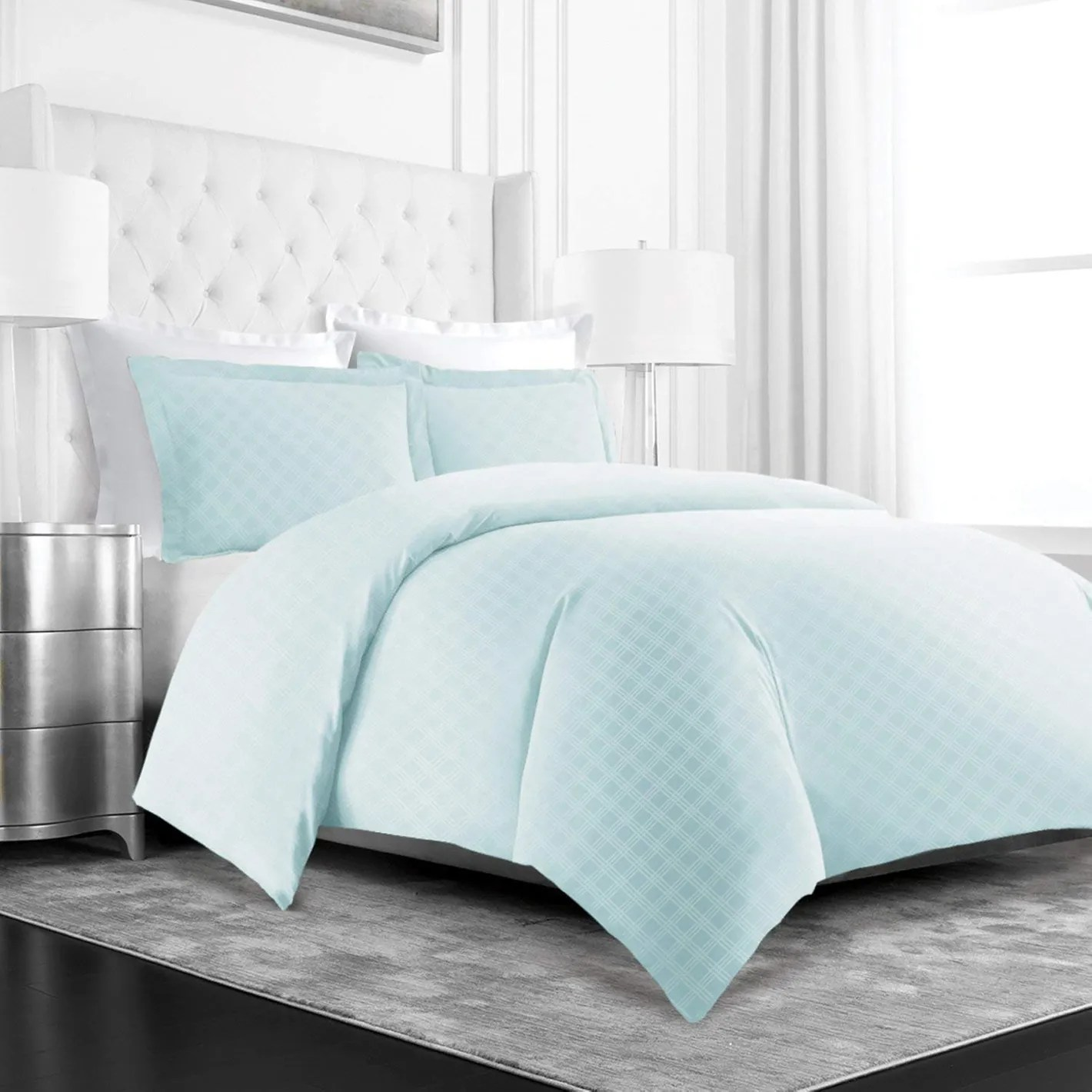 Where To Buy Nice Duvet Covers Beckham Hotel Collection Luxury Soft Brushed Microfiber Duvet Cover Set With Embossed Diamond Pattern