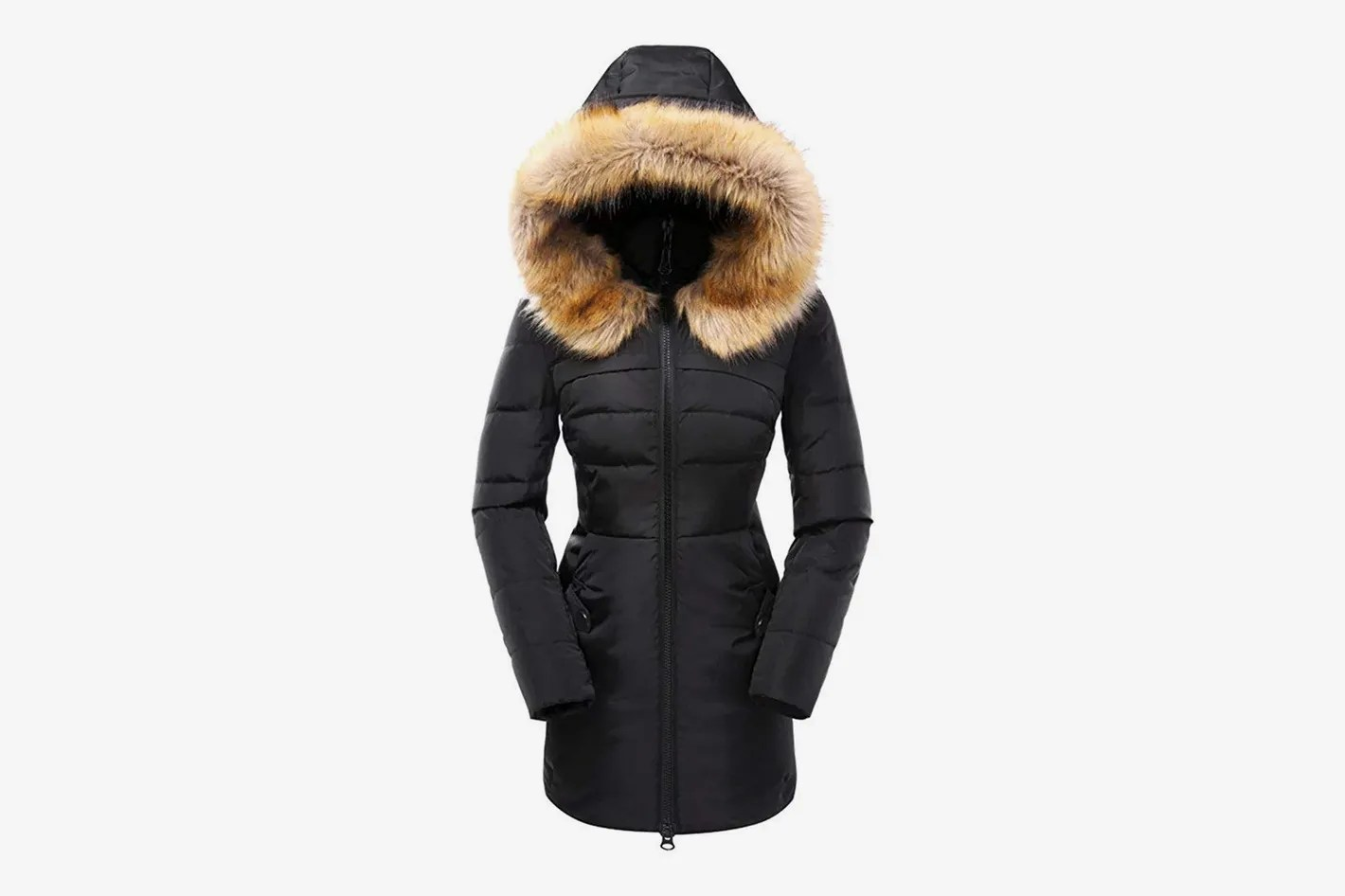Fur Womens Beinia Valuker Women S Down Coat With Fur Hood