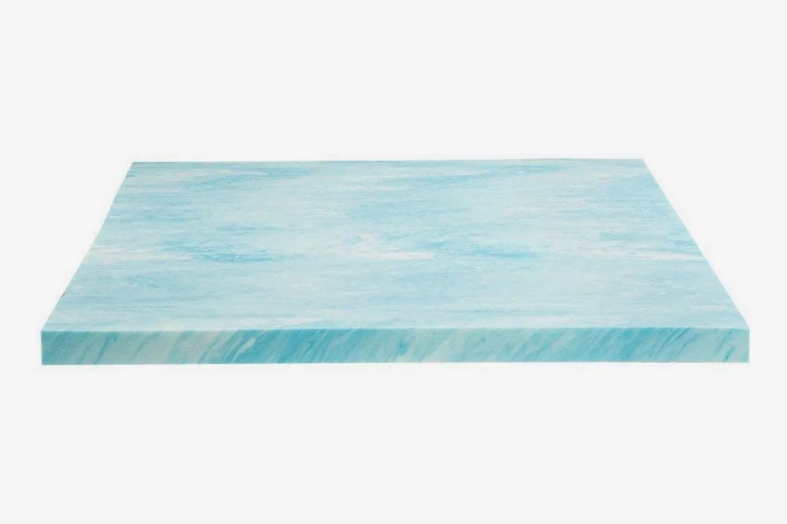 Best Mattress Toppers Australia Dreamfoam Bedding 2 Gel Swirl Memory Foam Topper