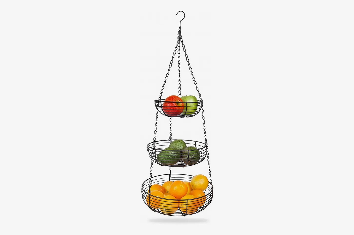 Wire Fruit Bowls Best Tiered Hanging Fruit Baskets 2018