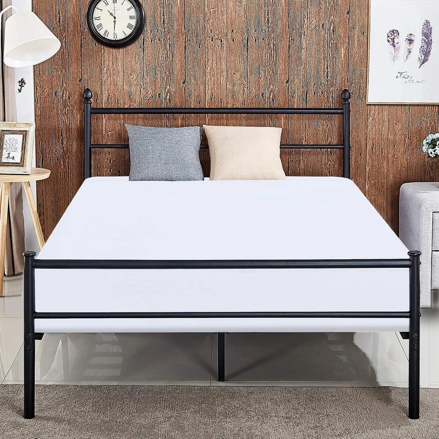 Bed Frame Size Full Matres Image