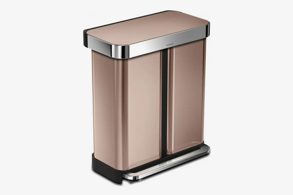 Elegant Trash Can The 13 Best Stylish And Good Looking Kitchen Trash Cans 2019