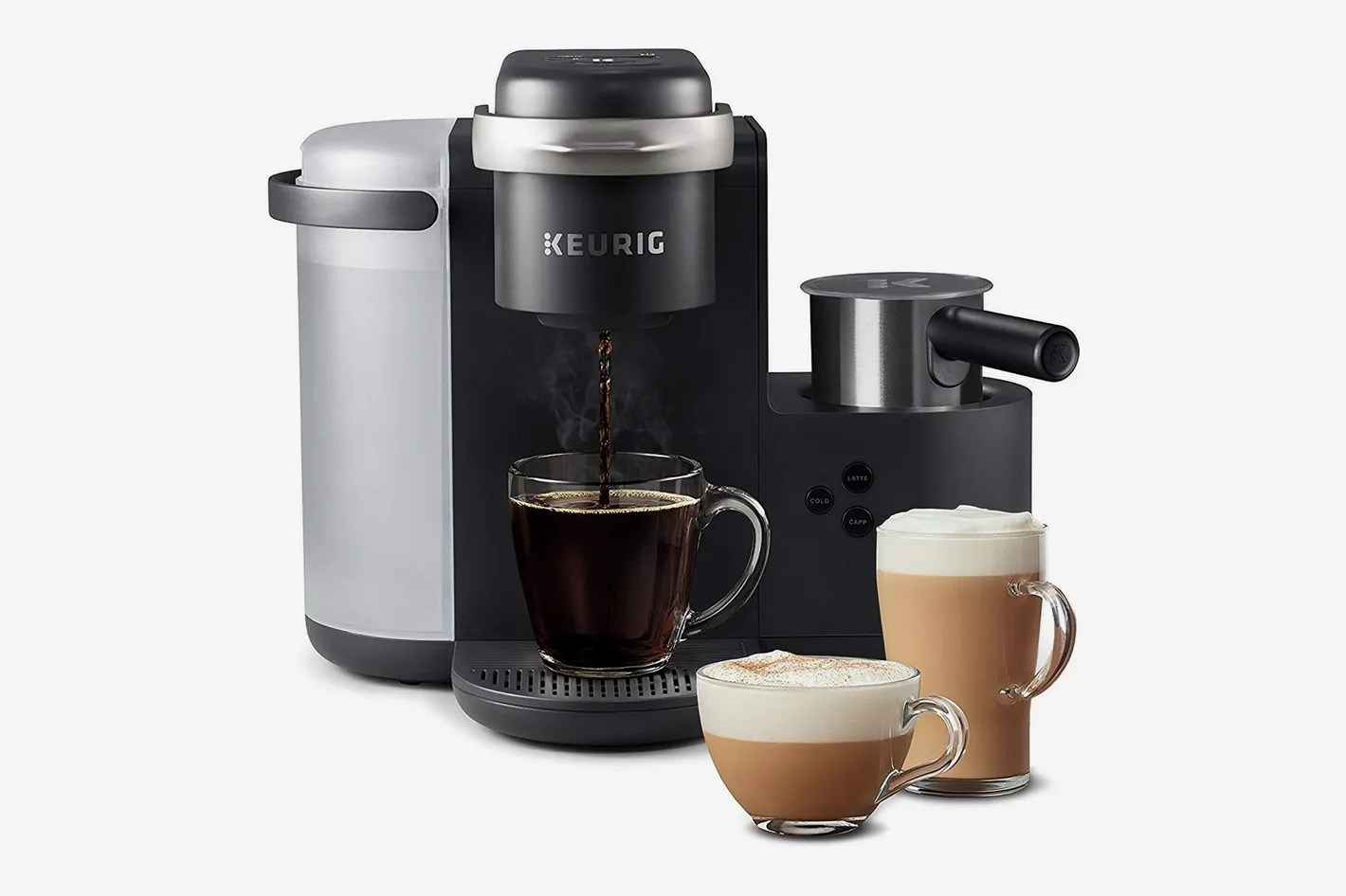 Machine A Cafe Keurig K Cafe Coffee Maker Latte Maker And Cappuccino Maker