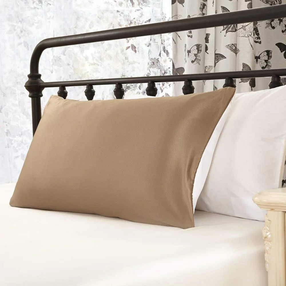 Satin Pillowcases With Zipper Lilysilk 100 Pure Mulberry Silk Pillowcase For Hair With Cotton Underside