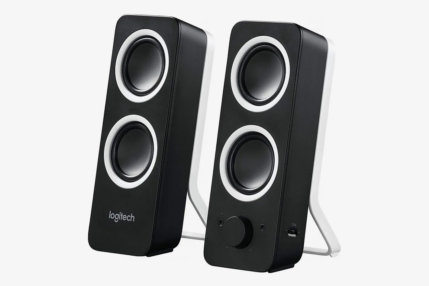 Cool Speakers For Bedroom Logitech Multimedia Speakers Z200 With Inputs For Multiple Devices