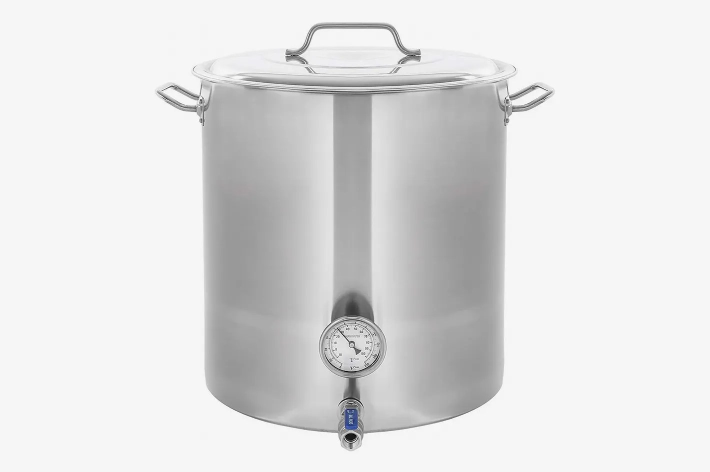 Big W Stock Pot Concord Stainless Steel Home Brew Kettle Stock Pot Weldless Fittings 30 Qt 7 5 Gal