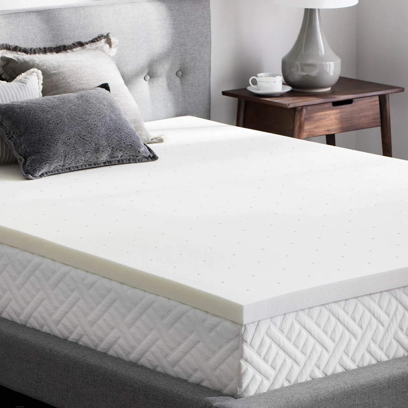 Wool Mattress Pad Reviews Weekender 2 Inch Memory Foam Mattress Topper