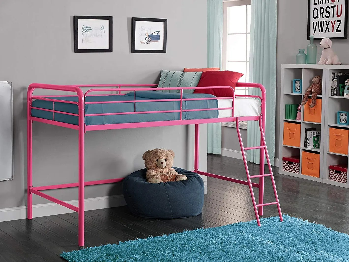 Land Of Beds Reviews Dhp Junior Loft Bed Frame With Ladder