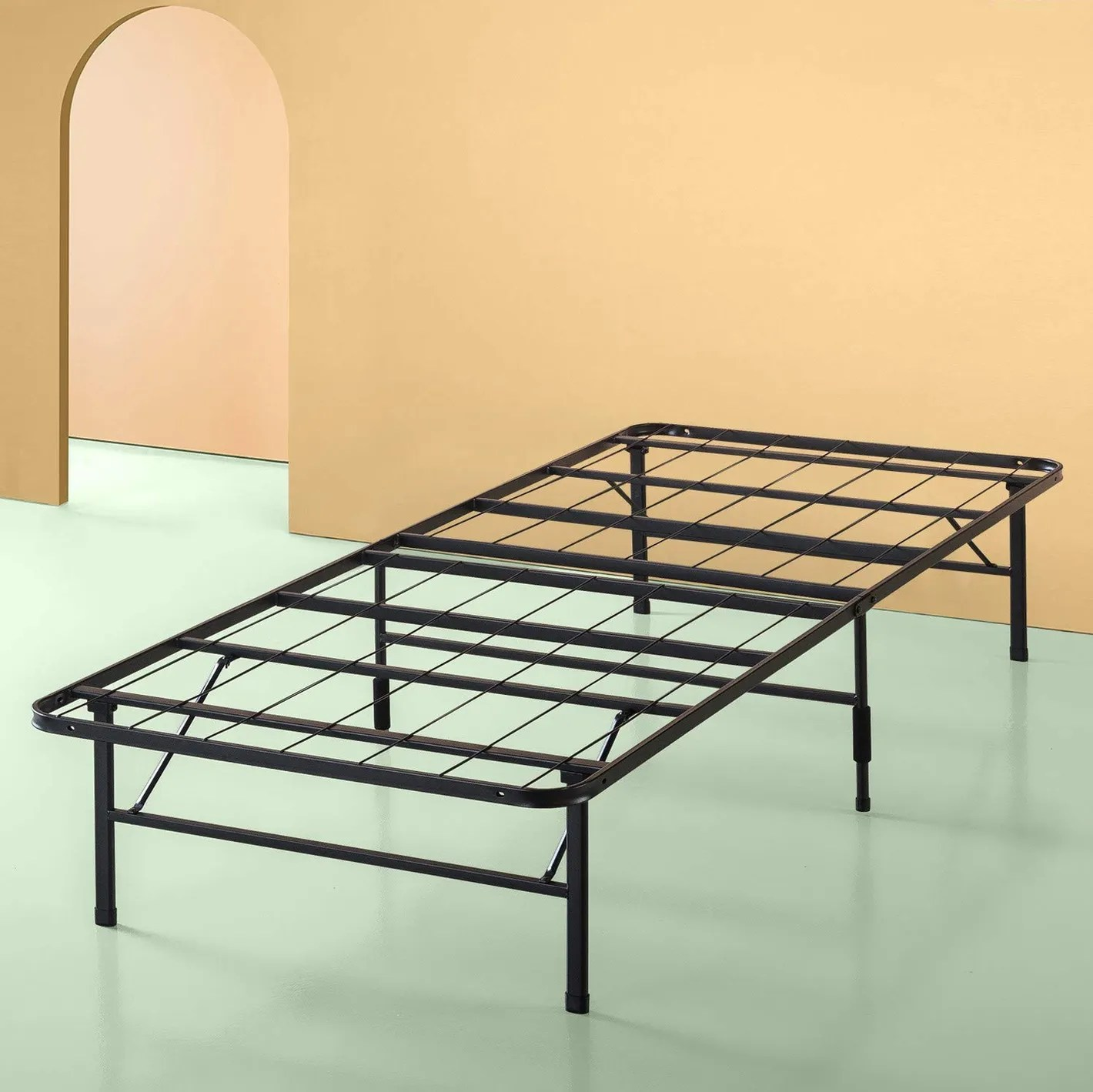 Best Boys Beds Zinus Sleep Master Platform Metal Bed Frame Foundation Set Twin