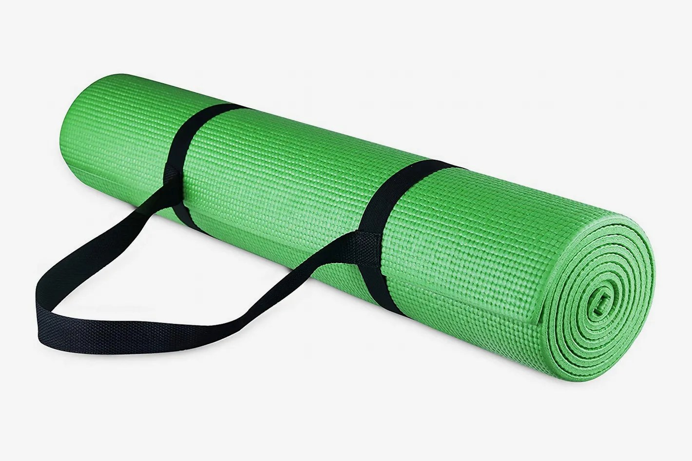 Amazon Yogamatte Balancefrom Goyoga All Purpose 1 4 Inch Yoga Mat With Carrying Strap