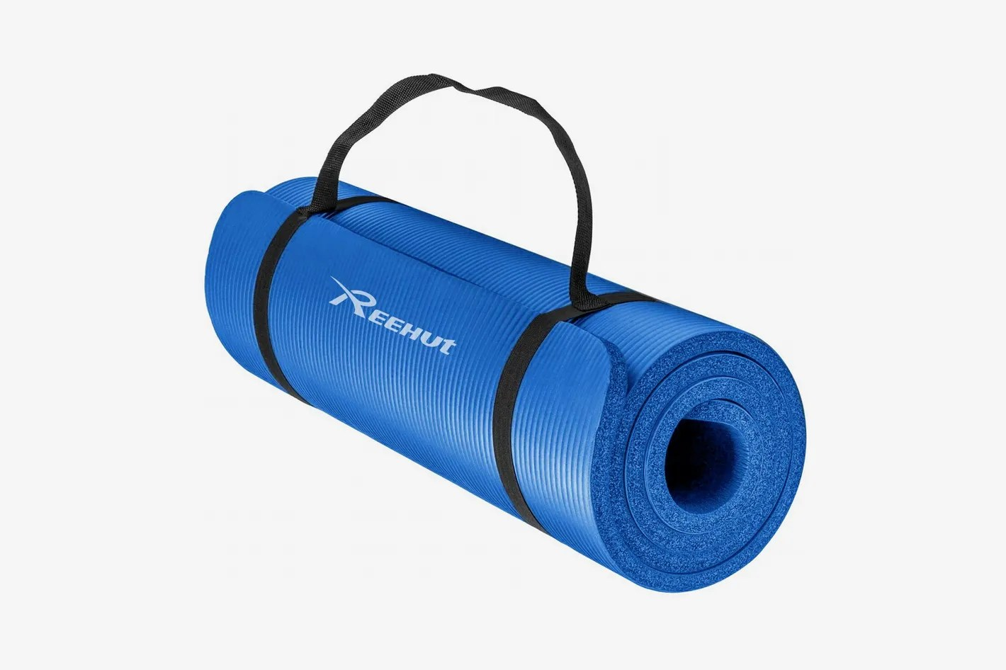 Amazon Yogamatte Reehut 2 Inch Extra Thick High Density Yoga Mat With Carrying Strap
