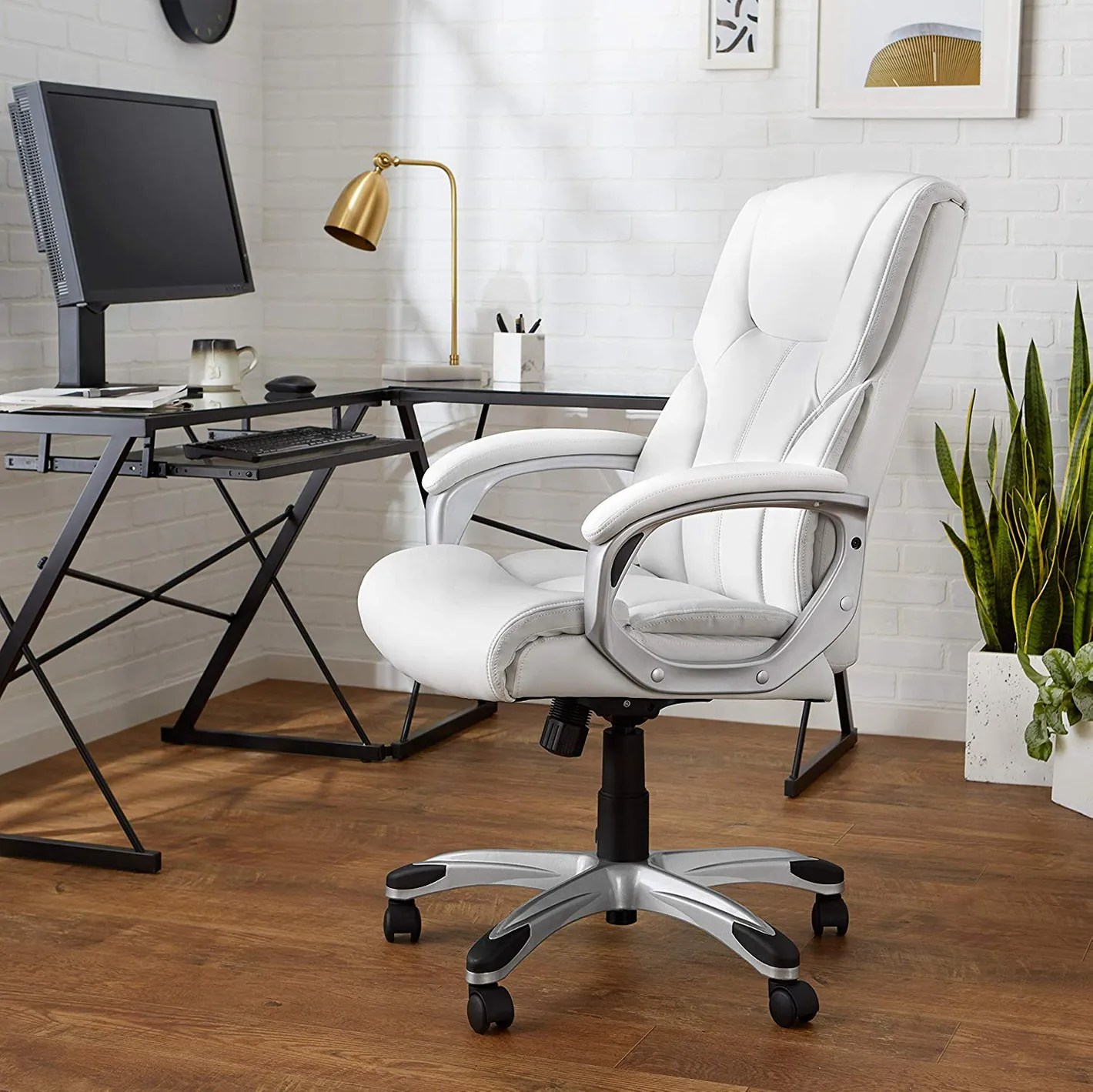 Cute Swivel Chair Amazonbasics High Back Executive Swivel Chair