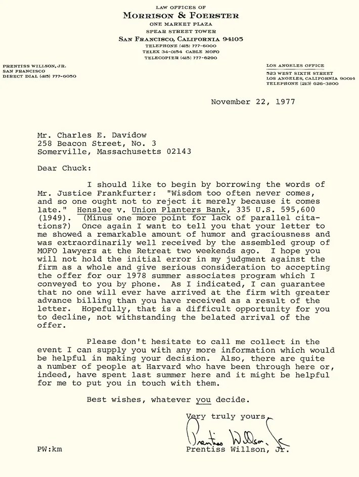 Read a Rejection-Letter Reply So Brilliant, It Got Him Hired - politely turning down a job offer