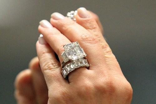 Medium Of Kim Kardashian Engagement Ring