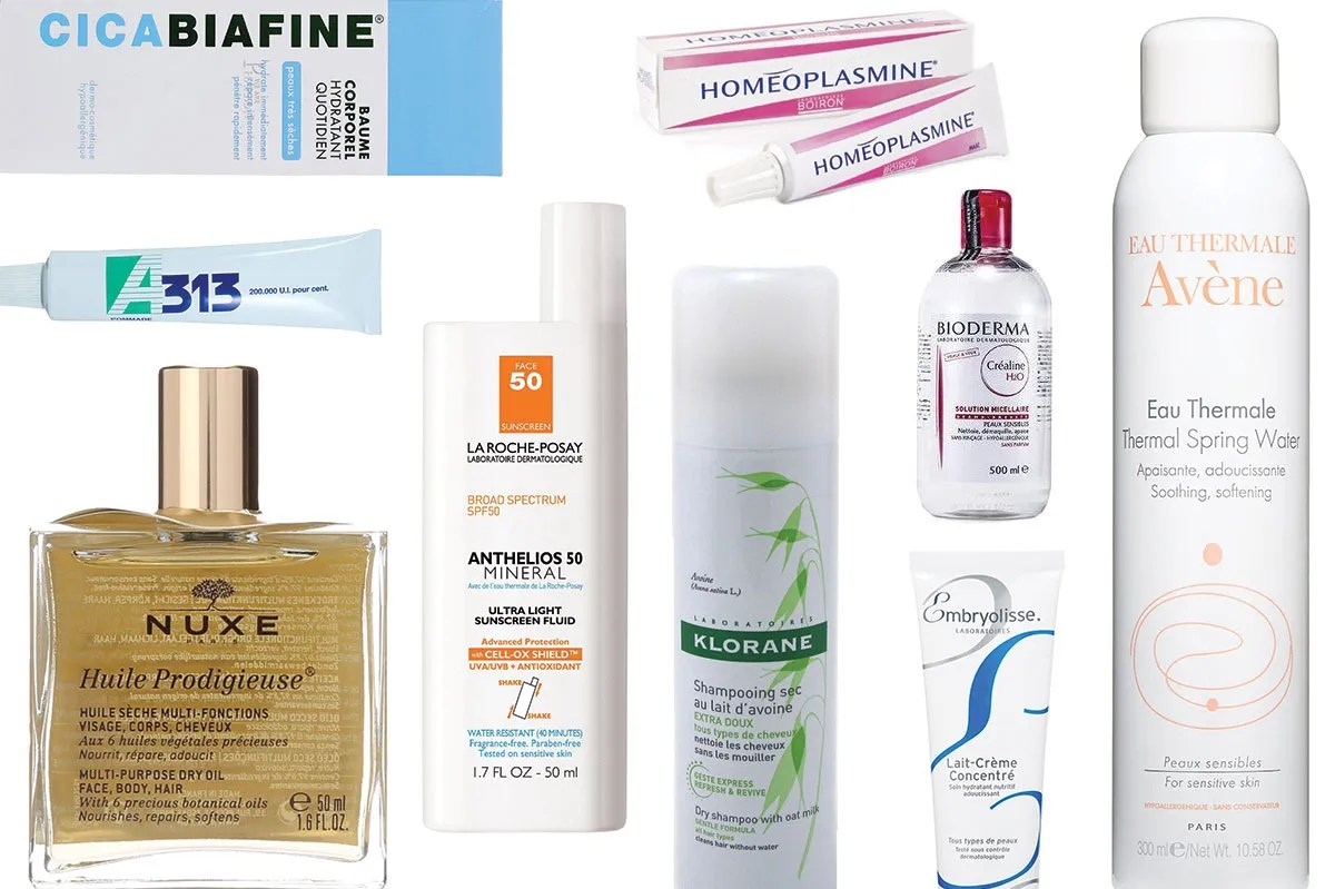 French Products 9 Cult French Pharmacy Products You Can Buy On Amazon