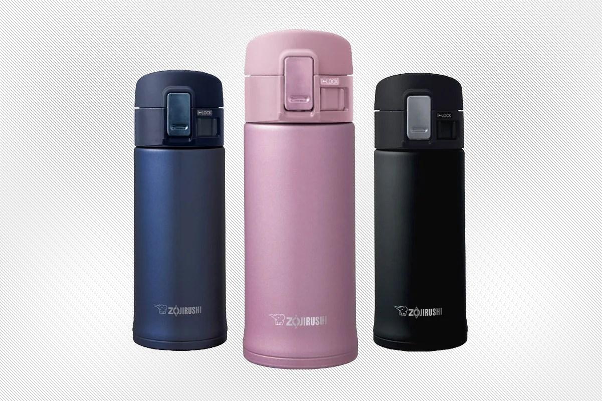 Zojirushi Vacuum Bottle Silver 05l Blue Daftar Update