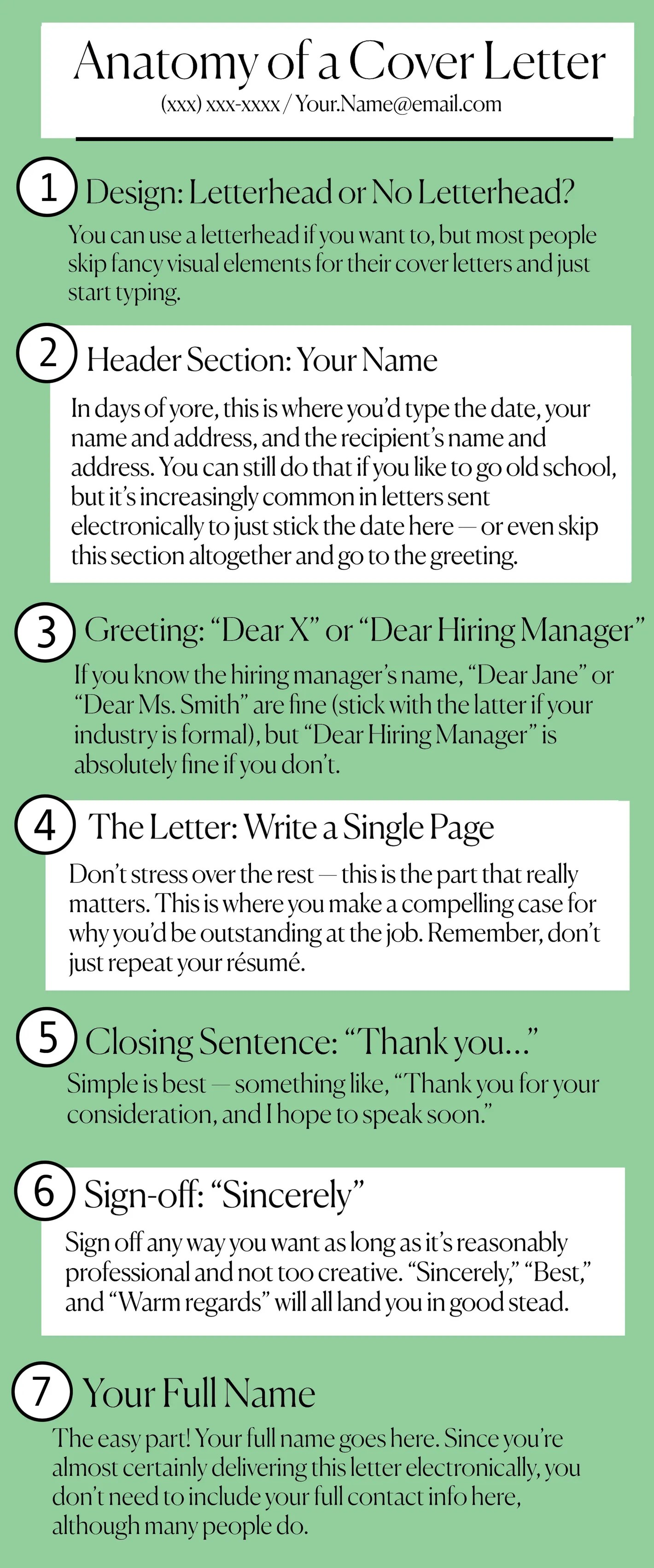 The Best Cover Letter How To Write A Cover Letter Step By Step Tips Examples