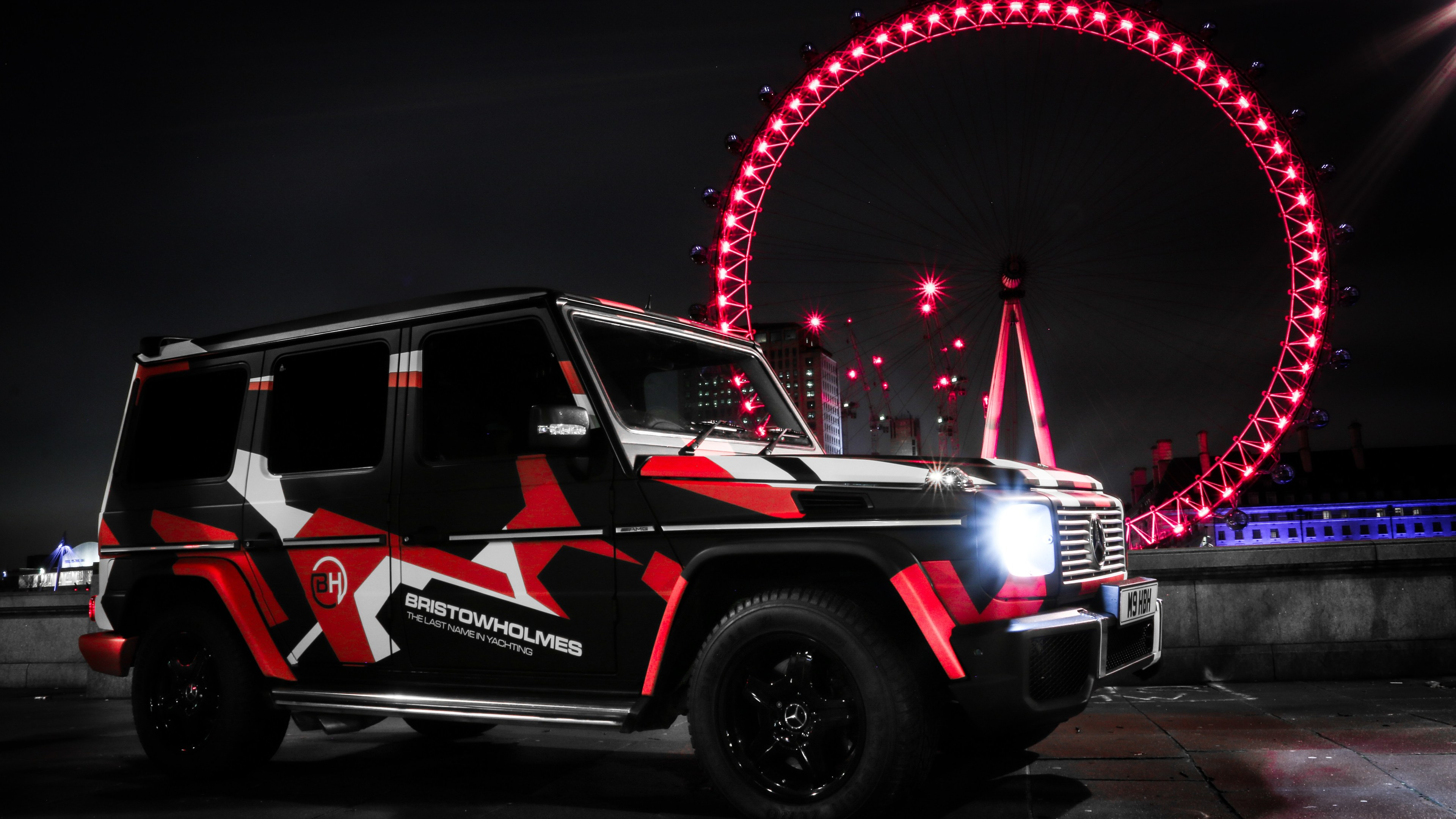 Baby Mercedes G Class Custom Mercedes G Wagon London Eye 4k Suv Wallpapers