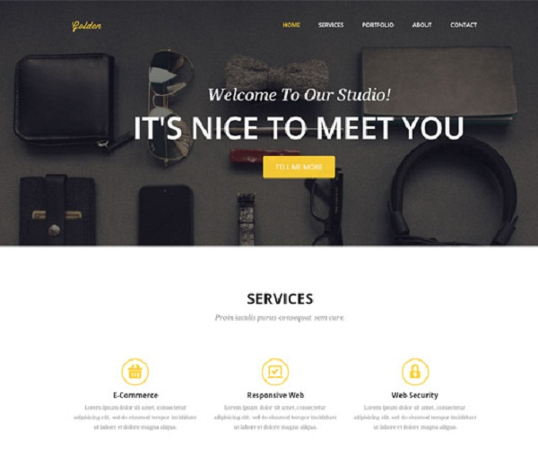 20 Free  Premium Bootstrap Templates - PIXEL77 - Nice Templates