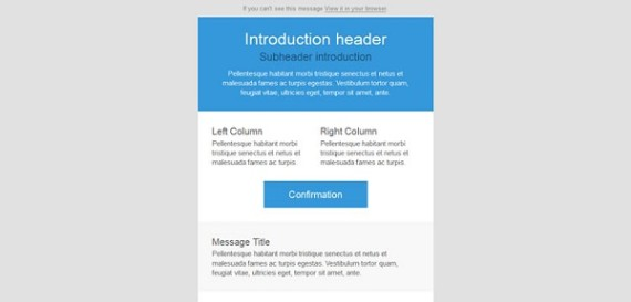 8 Free New Responsive Email Templates - free responsive email template